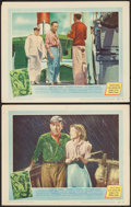"Movie Posters:Adventure, The African Queen (United Artists, 1952). Lobby Cards (2) (11"" X14""). Adventure.. ... (Total: 2 Items)"