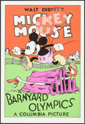 "Movie Posters:Animation, Barnyard Olympics (Circle Fine Art, R-1980s). Fine Art Serigraphs (4) (21"" X 30.75""). Animation.. ... (Total: 4 Items)"