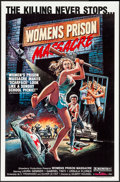 "Movie Posters:Exploitation, Women's Prison Massacre (Unistar, 1984). One Sheets (3) (27"" X41""). Exploitation.. ... (Total: 3 Items)"