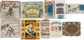 Baseball Cards:Unopened Packs/Display Boxes, T206 Brands Tobacco Pack and Box Type Collection (10) With Full Packs! ...