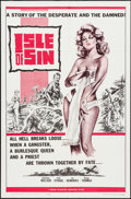 "Movie Posters:Adventure, Isle of Sin & Other Lot (Manson Distributing, 1962). One Sheet(27"" X 41"") & Lobby Card Set of 8 (11"" X 17""). Adventure.. ...(Total: 9 Items)"