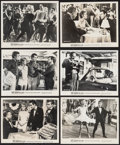 """Movie Posters:Rock and Roll, Twist Around the Clock (Columbia, 1961). Photos (15) (approx. 8"""" X10""""). Rock and Roll.. ... (Total: 15 Items)"""