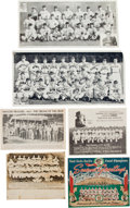 Baseball Collectibles:Others, 1930's - 1940's Minor League Baseball Team Photos/Promos Collection(23) With Future Stars & HoFers. ...