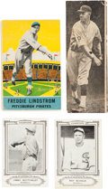 Baseball Cards:Lots, 1920's - 1940's Baseball Card Collection and Uncut Dixie Lids Sheet (12). ...