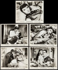 "Movie Posters:Foreign, Two Nights with Cleopatra (Ultra Film, 1964). Photos (5) (8"" X 10""). Foreign.. ... (Total: 5 Items)"