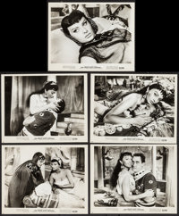 "Two Nights with Cleopatra (Ultra Film, 1964). Photos (5) (8"" X 10""). Foreign. ... (Total: 5 Items)"