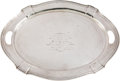 Miscellaneous Collectibles:General, 1919 Belmont Stakes Trophy Silver Tray Presented to Owner of SirBarton....