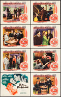 """Movie Posters:Mystery, Between Two Worlds (Warner Brothers, 1944). Lobby Card Set of 8(11"""" X 14""""). Mystery.. ... (Total: 8 Items)"""
