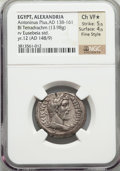 Ancients:Roman Provincial , Ancients: EGYPT. Alexandria. Antoninus Pius (AD 138-161). BILtetradrachm (13.98 gm)....