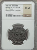 Ancients:Greek, Ancients: MOESIA INFERIOR. Odessus. Gordian III (AD 238-244). AE 5assaria (no wt. given)....