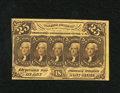 Fractional Currency:First Issue, Fr. 1281 25c First Issue Choice About New. Dark brown ink highlights this Fractional that has a light center fold that dissi...