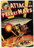 Golden Age (1938-1955):Science Fiction, Attack On Planet Mars #1 (Avon, 1952) Condition: VG....