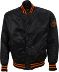 Baseball Collectibles:Others, 1959-61 Eddie Fisher Game Worn San Francisco Giants Jacket & Pants. ...