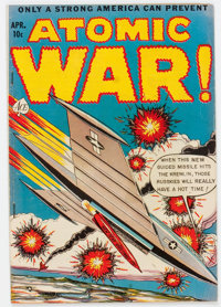 Atomic War! #4 (Ace, 1953) Condition: VG-