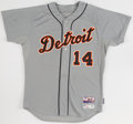 Baseball Collectibles:Uniforms, 2015 David Price Game Worn Detroit Tigers Jersey with MLB Hologram. ...