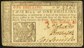 New Jersey March 25, 1776 1s Extremely Fine