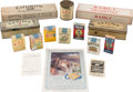 Baseball Cards:Unopened Packs/Display Boxes, 20th Century Tobacco Packs, Boxes, Containers, Ad, Etc. Collection(15). ...