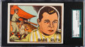 Baseball Cards:Singles (1940-1949), 1942 Editorial Bruguera Babe Ruth #12 SGC 20 Fair 1.5. ...