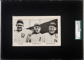 Baseball Cards:Singles (1930-1939), C. 1930 Bobby Veach Coal Co. Advertising Card SGC Authentic WithCobb and Crawford. ...