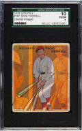 Baseball Cards:Singles (1930-1939), 1933 Goudey Rick Ferrell #197 SGC 10 Poor 1 - With GhostMisprint....