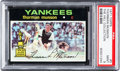 Baseball Cards:Singles (1970-Now), 1971 Topps Thurman Munson #5 PSA Mint 9 - Pop Four, None Higher....