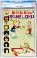 Bronze Age (1970-1979):Cartoon Character, Richie Rich Dollars and Cents #56 File Copy (Harvey, 1973) CGC NM+9.6 Off-white to white pages....