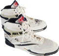Basketball Collectibles:Others, 1980's Dennis Rodman Game Worn Shoes - From Family of SandyGrossman. ...