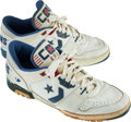 Basketball Collectibles:Others, 1980's Isiah Thomas Game Worn Shoes - From Family of SandyGrossman. ...