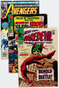 Comic Books - Assorted Silver-Modern Age Comics Signed by Gene Colan, Group of 36 (Various Publishers, 1960s-90s) Condit...