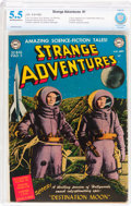 Golden Age (1938-1955):Science Fiction, Strange Adventures #1 (DC, 1950) CBCS FN- 5.5 Off-white to whitepages....