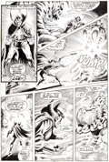 Original Comic Art:Panel Pages, Frank Brunner and Dick Giordano Doctor Strange #1 Page 31Hookah-Smoking Caterpillar Original Art (Marvel, 1974)....