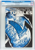 Modern Age (1980-Present):Humor, Teenage Mutant Ninja Turtles #2 (Mirage Studios, 1984) CGC VF/NM9.0 Off-white to white pages....