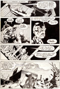 Original Comic Art:Panel Pages, Michael Kaluta and Bernie Wrightson The Shadow #3 Page 11Original Art (DC, 1974)....