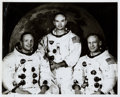 Miscellaneous Collectibles:General, 1969 Apollo 11 Crew, 1st Men on the Moon Original Photograph,PSA/DNA Type I....