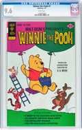 Bronze Age (1970-1979):Cartoon Character, Winnie the Pooh #1 (Gold Key/Whitman, 1977) CGC NM+ 9.6 Whitepages....