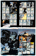 Original Comic Art:Miscellaneous, Batman: The Dark Knight Returns #4 Page Color Proof (DC,1986)....