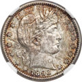 Barber Quarters, 1893-S 25C MS65 NGC....