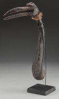 Tribal Art, Hausa Bird Decoy Headdress, Northern Nigeria. Early to mid-20thcentury...