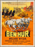 "Movie Posters:Academy Award Winners, Ben-Hur (MGM, 1959). French Grande (47"" X 63""). Academy AwardWinners.. ..."