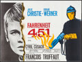 "Movie Posters:Science Fiction, Fahrenheit 451 (Universal International, 1967). Trimmed BritishQuad (28.75"" X 38.75""). Science Fiction.. ..."