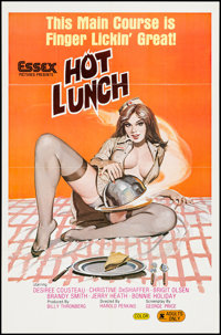 """Hot Lunch (Essex, 1978). One Sheet (25"""" X 38""""). Adult"""