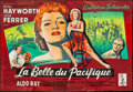 "Movie Posters:Drama, Miss Sadie Thompson (Columbia, 1954). French Double Grande (63"" X91""). Drama.. ..."