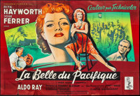 "Miss Sadie Thompson (Columbia, 1954). French Double Grande (63"" X 91""). Drama"