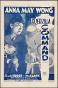 "Movie Posters:War, Lady from Chungking (Madison Pictures, R-1948). One Sheet (27"" X41""). War. Reissued as Guerilla Command.. ..."