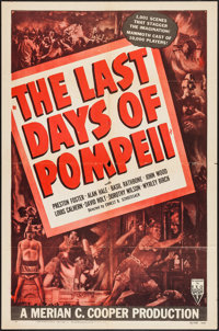 "The Last Days of Pompeii (RKO, R-1948). One Sheet (27"" X 41""). Adventure"