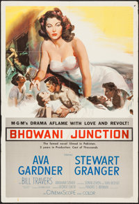 "Bhowani Junction (MGM, 1956). One Sheet (27"" X 41""). Drama"