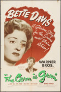 "Movie Posters:Drama, The Corn Is Green (Warner Brothers, 1945). One Sheet (27"" X 41"").Drama.. ..."