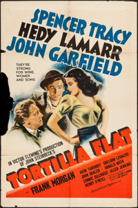 "Tortilla Flat (MGM, 1942). One Sheet (27"" X 41"") Style D. Drama"