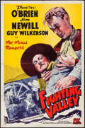 """Movie Posters:Western, Fighting Valley (PRC, 1943). One Sheet (27"""" X 41""""). Western.. ..."""