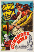 "Movie Posters:Western, Gunsmoke Mesa (PRC, 1944). One Sheet (27"" X 41""). Western.. ..."